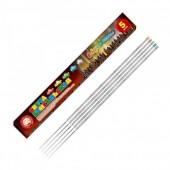 Цветные бенгальские огни 65 см (5шт. в упаковке) Северное сияние